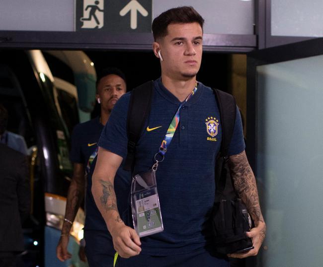 巴西队抵达
