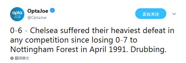 1991年来最惨输球