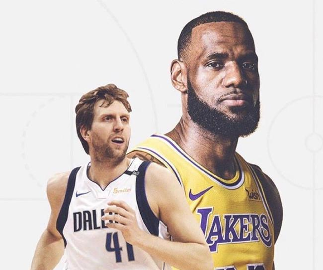 诺维茨基:詹姆斯才应该是本赛季的MVP