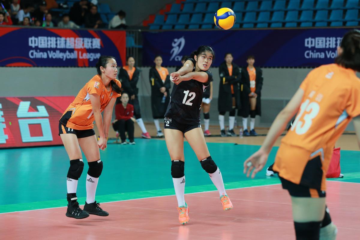 19-20中国女排超级联赛第九轮第53场河北0-3福建