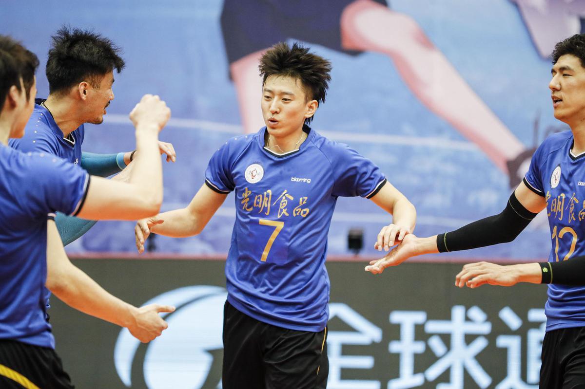 男排第一阶段北京江苏小组第一 全华班上海五胜