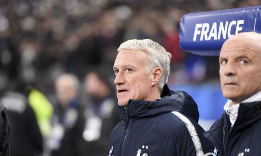 德尚当选2018法国年度最佳主帅 已是第3次获奖