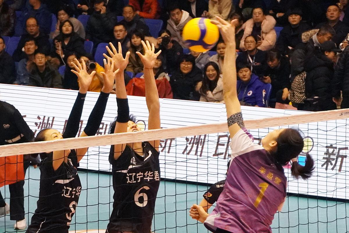 19-20中国女排超级联赛第九轮第51场辽宁主场0:3惜败天津女排