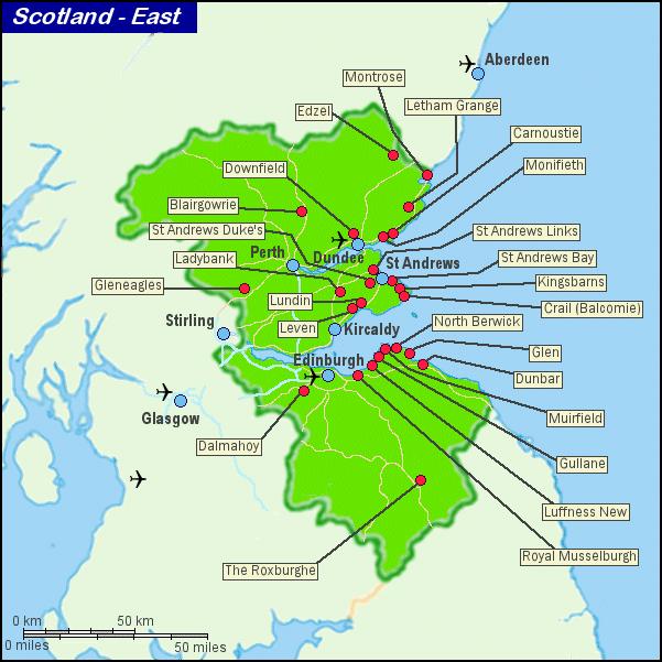 苏格兰东部沿海地带高尔夫俱乐部