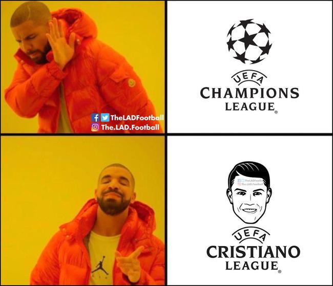 欧冠=欧洲C罗联赛?