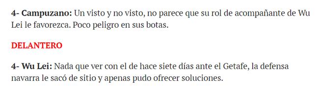 【博狗扑克】西媒点评武磊:西班牙人倒下前 他是最拼的那个