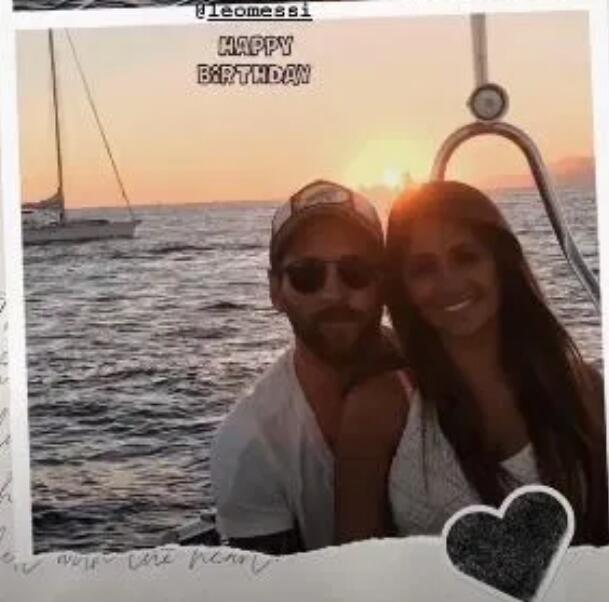 妻子贴照片祝梅西生日快乐:谢谢你 我一生的爱