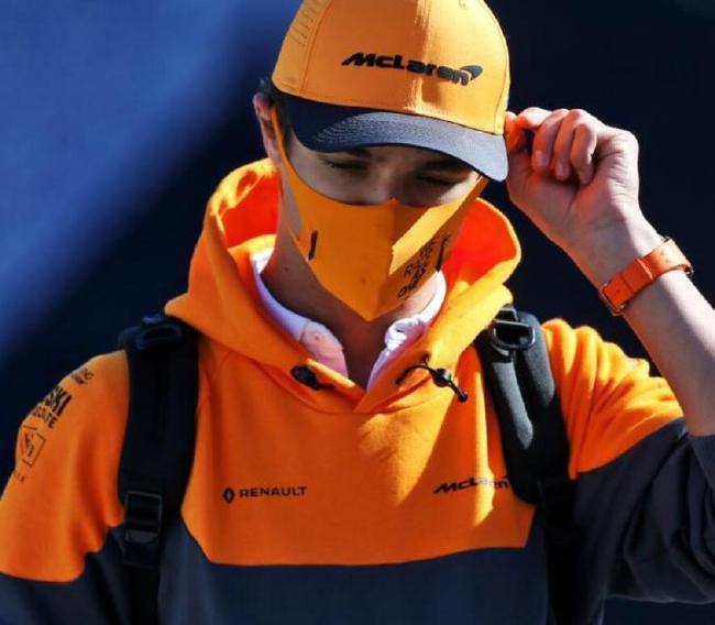 F1迈凯伦车队诺里斯感染新冠 已失去味觉和嗅觉