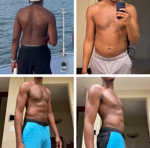 迈尔斯减重小肚腩消失 少25磅令步行者心动