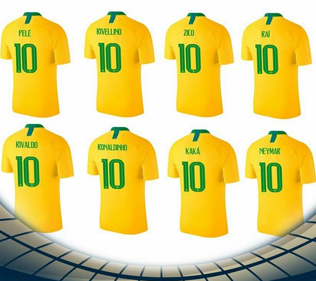 巴西历史上的10号