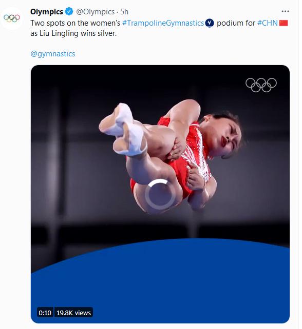 怒了!奥运官推发中国选手丑照 底下网友都在质问