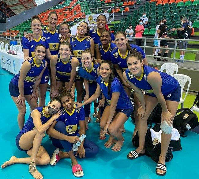 巴西女排洲际赛遭爆冷损失15分 美国重回世界第一
