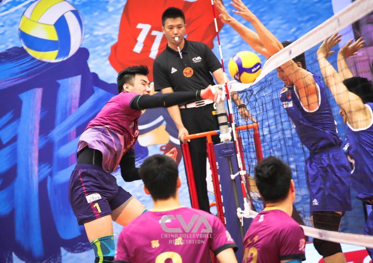 男排联赛苏沪时隔九年再会总决赛 上海男排占先机