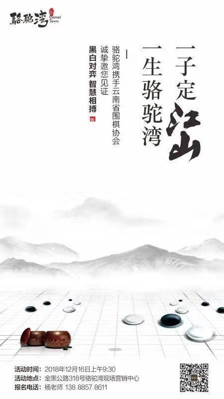 """""""骆驼湾杯""""云南省业余围棋整体对抗赛"""