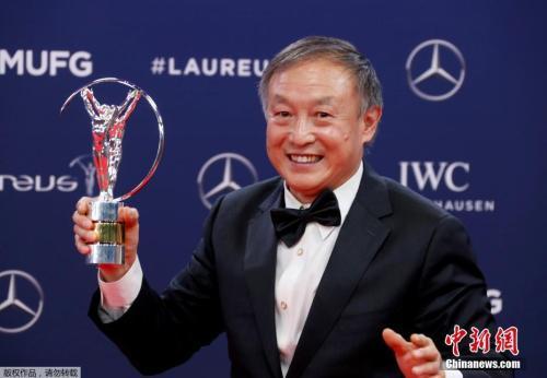 夏伯渝获2019劳伦斯最佳体育时刻奖。
