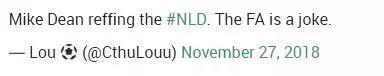 麦克-迪恩执法北伦敦德比,英足总是个笑话?