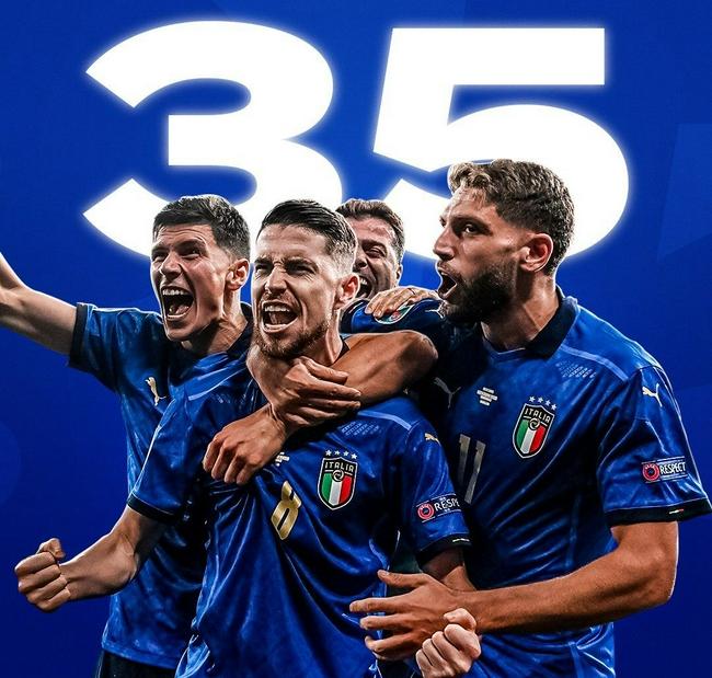 【博狗体育】意大利35场不败追平世界纪录 曼奇尼超里皮创不败纪录