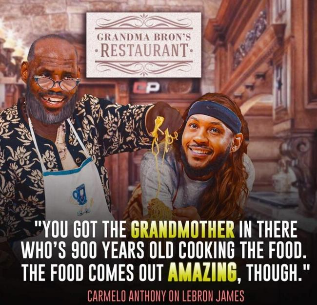 安东尼谈湖人年龄:就像900岁奶奶做饭 味道好
