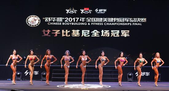 """去届""""舒华杯""""全国健美健身冠军总决赛精彩回顾"""