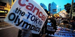男子怒骂Fxxx闯进奥运发布会 他来自这个组织!