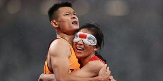 """残奥会让这位帅小伙火了 他是奥运冠军的""""眼睛"""""""