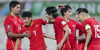 武磊梅开二度补时读秒绝杀 国足3比2越南12强赛获得首胜!
