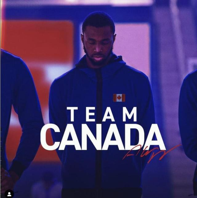 维金斯宣布将代表加拿大出战奥运落选赛