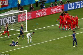 两球落后压哨逆转 比利时3-2日本晋级