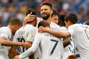 卡瓦尼缺阵格子破门 法国2-0乌拉圭