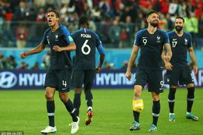 格子助攻阿扎尔难破门 法国1-0比利时