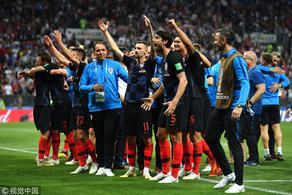 曼朱加时绝杀 克罗地亚2-1英格兰晋级
