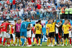 丁丁助攻阿扎尔破门 比利时2-0英格兰