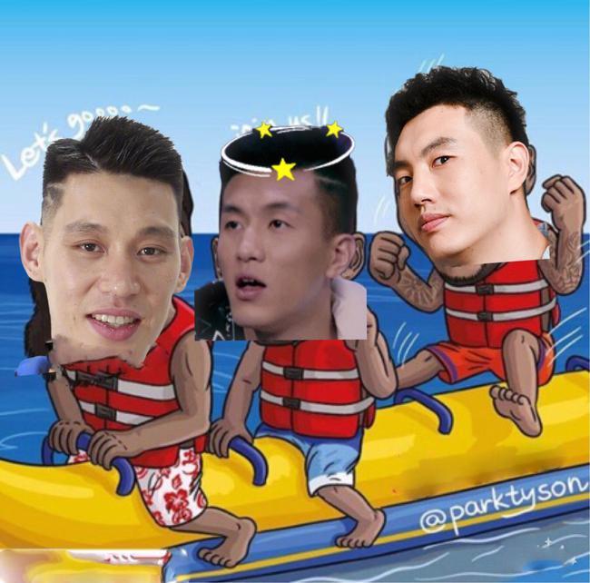 林书豪加盟CBA 又一轮香蕉船兄弟激情开始了