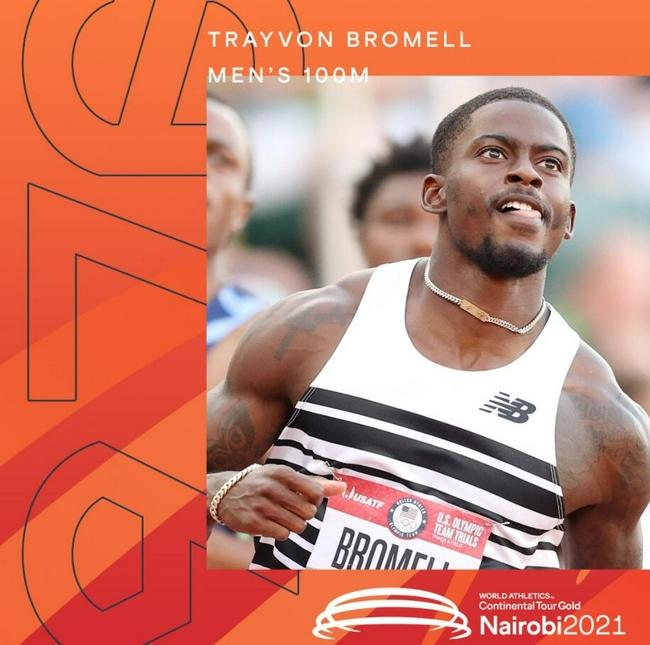 布罗梅尔再创百米今年世界第一 高人狂破非洲纪录