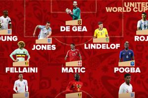 世界杯曼联出战球员汇总 官方盘点11人阵容