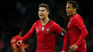 C罗萨拉赫巨星PK!葡萄牙2-1逆转埃及