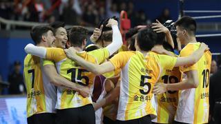 上海男排四连冠!总比分4-2胜北汽问鼎
