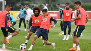 巴西国家队伦敦备战世界杯