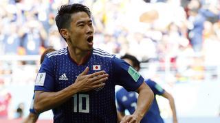 香川点射J罗哑火 日本2-1哥伦比亚