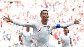C罗闪电破门 葡萄牙1-0送摩洛哥出局