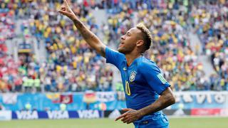 内马尔库鸟补时破门 VAR否点球 巴西2-0
