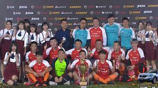 2018足金总决赛 大连晟威7-6广州夺冠