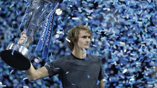 ATP年终总决赛 兹维列夫胜德约首度问鼎