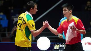 爆冷!乒联总决赛樊振东2-4不敌巴西选手