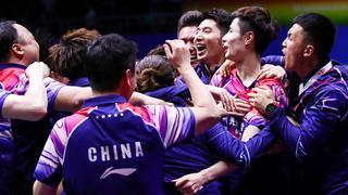 苏迪曼杯中国横扫日本 夺历史第11冠