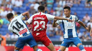西甲|武磊首发险造点 西班牙人0-2