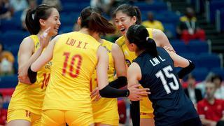 世界杯中国女排3-0喀麦隆