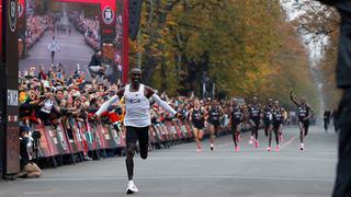 突破!马拉松人类史上首次跑进2小时