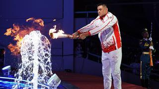 第7届世界军人运动会开幕 刘玉栋点燃火炬