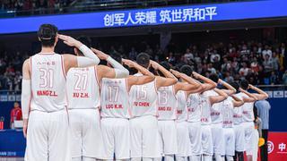2019武汉军运会 中国男篮104-71蒙古